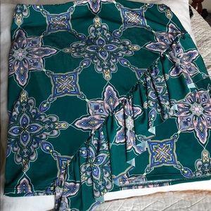 Missguided Print Skirt